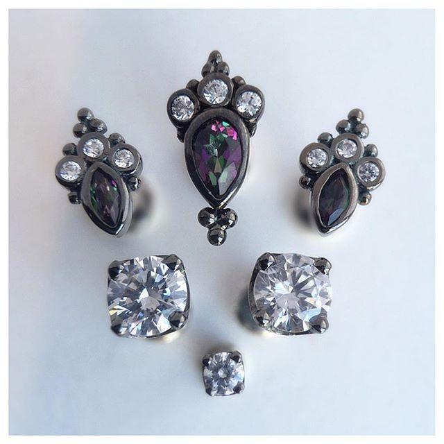 best 25 dermal piercing jewelry ideas on pinterest body