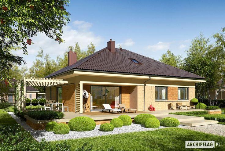 Flo III   to zgrabne połączenie klasycznej elegancji z funkcjonalnością. Kompaktowa forma, oszczędny detal i maksymalne wykorzystanie powierzchni sprawiają, że dom jest tani w realizacji i ekonomiczny w codziennym użytkowaniu. W jego wnętrzu świetnie odnajdzie się rodzina, która ceni przytulną...