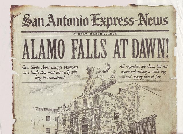 Image result for the fall of the alamo