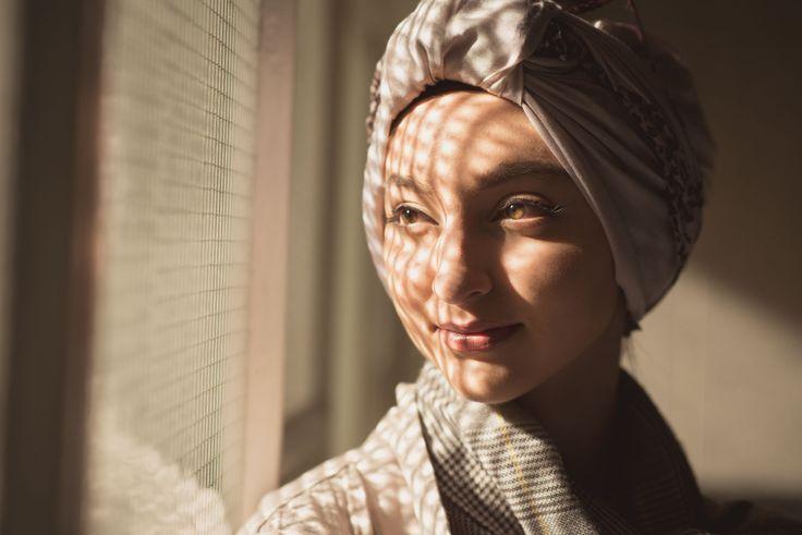 Portrait Fotoshooting mit der jungen Muslimin Gizem