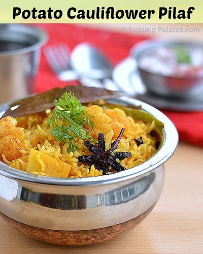 Kartoffelblumenkohl Pilaw (Reis)