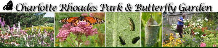 Charlotte Rhoades Park & Butterfly Garden.  Photos: Carolyn Hollenbeck, Shirley Beccue
