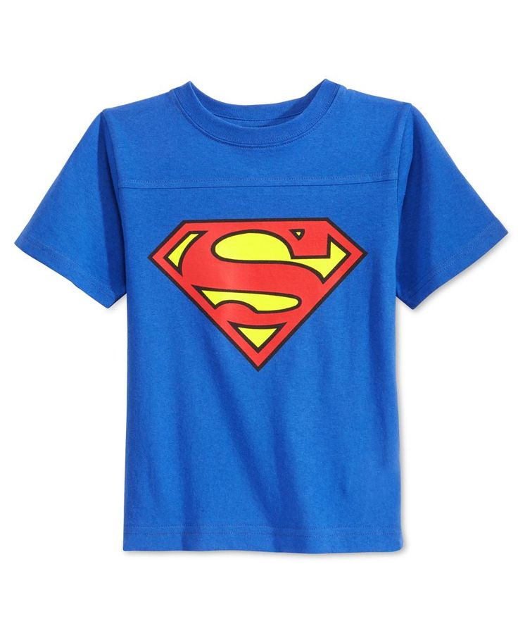 Warner Bros. Little Boys' Caped Superman T-Shirt