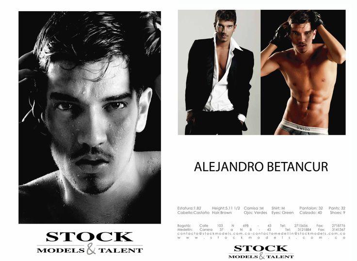 Alejandro Betancur - Modelo Stock Models -