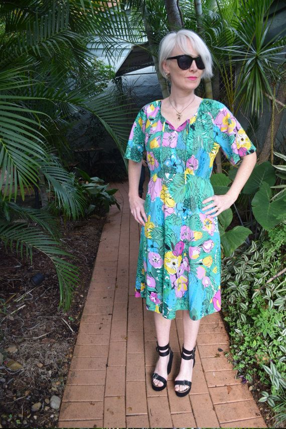 Vintage Japanese dress by GingerPopVintage on Etsy