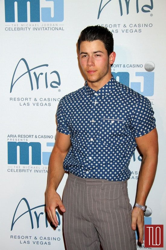 Nick Jonas at the 2014 Michael Jordan Celebrity Invitational Gala | Tom & Lorenzo Fabulous & Opinionated