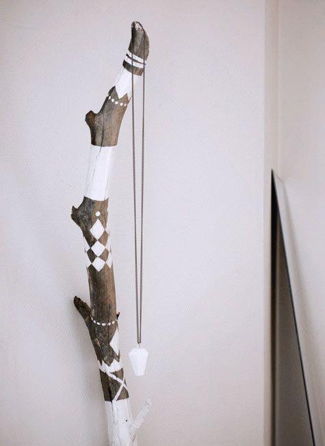 25 beste idee n over takken op pinterest - Deco originele muur ...