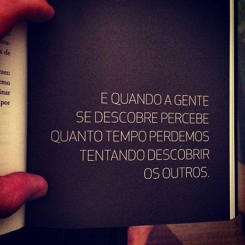 #DescubraOSeuEU Seja Feliz consigo mesmo para descobrir outra que te auxilie a manter a sua Felicidade