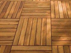 Decking in legno DECKOUT - QUADROTTA - MENOTTI SPECCHIA