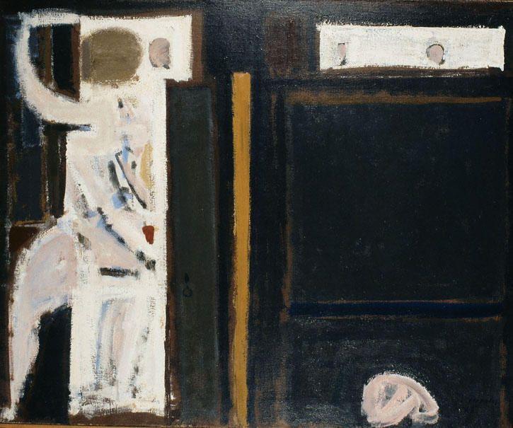 """Memory"", 1963 by Yiannis Moralis (1916-2009, Greece)"