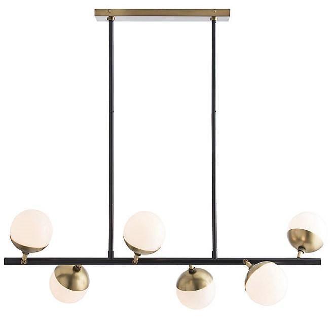 Pin By Angelaclaremcnab On Pendant Light In 2020 Modern Lighting Chandeliers Linear Chandelier Arteriors Home