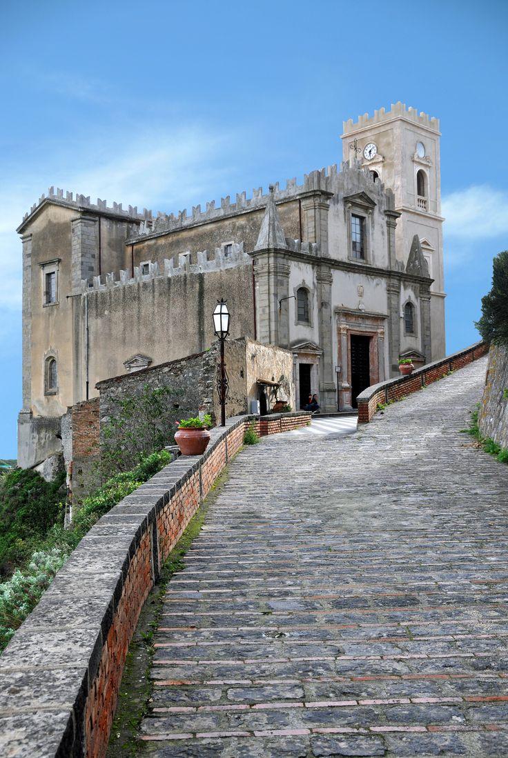 "Church of San Nicolò, Savoca, Sicily. Site in ""The Godfather"" movie. | Dennis Jarvis via Flickr"