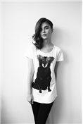Amos Dog Woman's Designer T-Shirt, supporting a good cause   SPCA Auckland