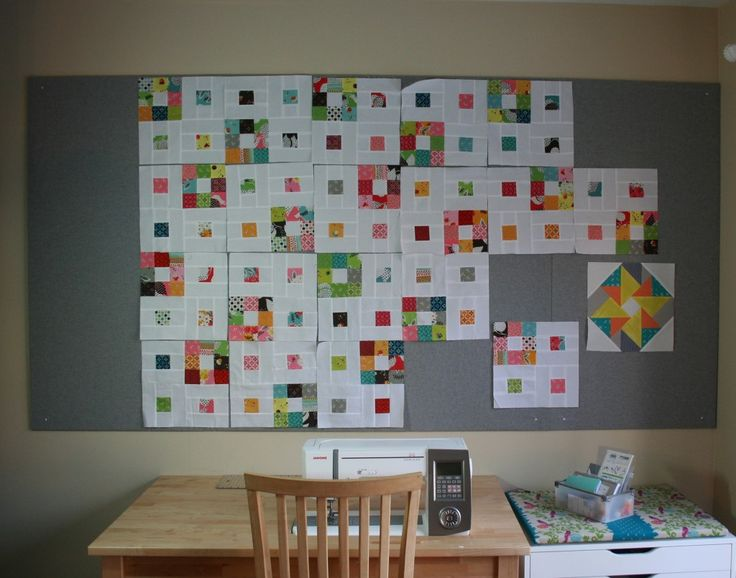 Quilting Room Design Ideas Part - 34: Try It Tuesday #9: DIY Quilt Design Wall - Swim, Bike, Quilt