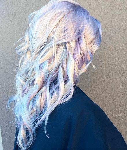 Frisuren-Trends 2017: Haare sehen jetzt aus wie ein Hologramm