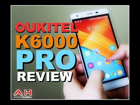 Oukitel K6000 Pro Android Smartphone Review - YouTube