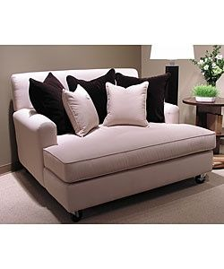Double chaise lounge for living room. I want this chair so bad but can't find it or anything similar anywhere. Have to find this!