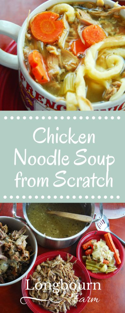 Making chicken noodle soup from scratch is so delicious. Learn how to make amazing flavorful broth and perfect egg noodles! Try it today.