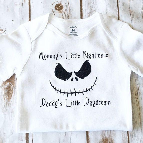 Siempre de traje  pesadilla antes de Navidad para bebés