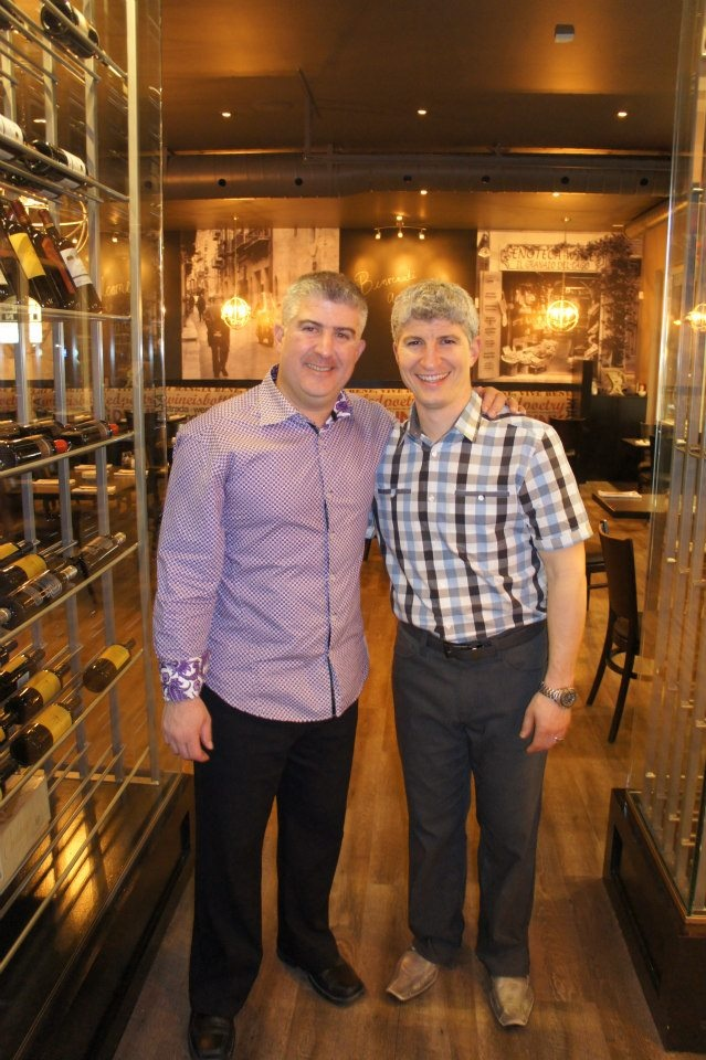 The owners of Strada West, Anthony and Tom Roberto!