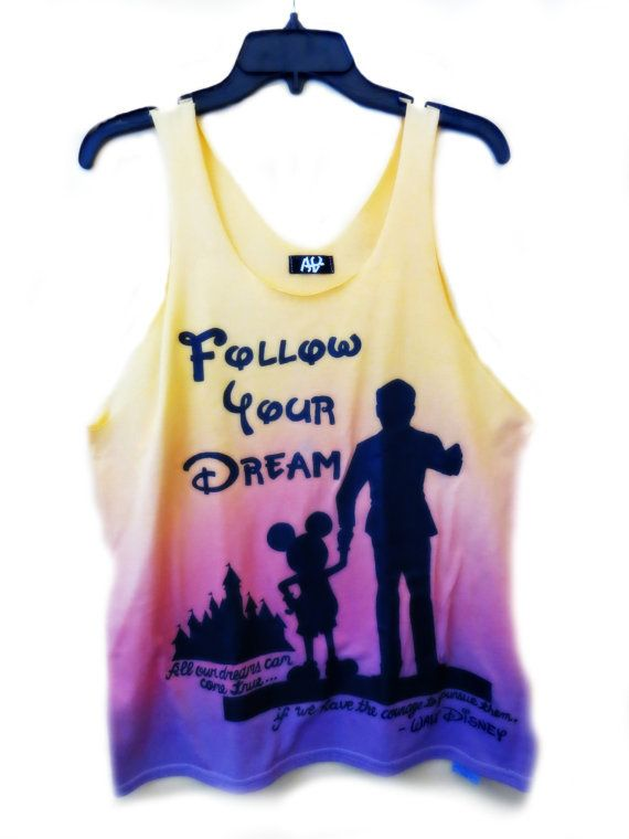 Disney Sunset of Dreams Tank Top. Want!