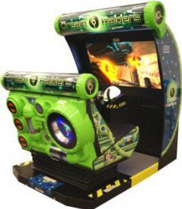 Dream Raiders Motion Simulator Video Arcade Game From Sega