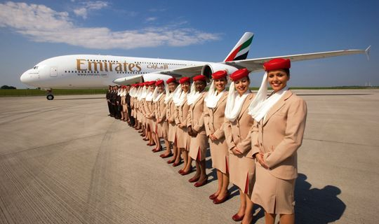 1.  I wish I was overseas for 5-7 days three or four times a year.  2. I wish I could afford to travel in the frequency of number one above.  3.  Most of the flying would be Emirates, but I like trying new Airlines despite the polar experiences that sometimes occur :D ~ Emirates crew  alongside the new Airbus A380