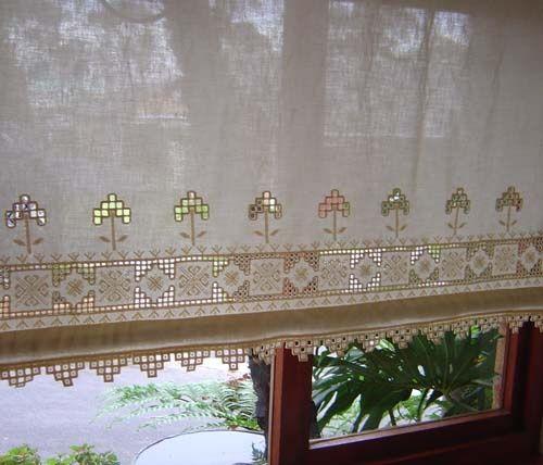 hardanger curtains - Pesquisa Google