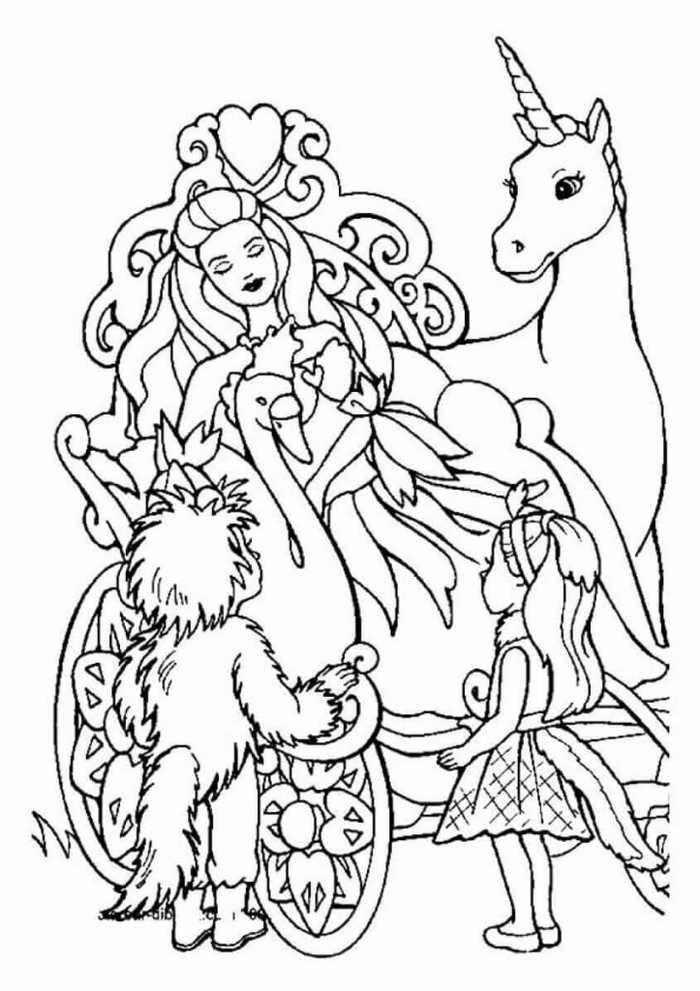 Printable Princess Coloring Pages Free Coloring Sheets Unicorn Coloring Pages Princess Coloring Princess Coloring Pages