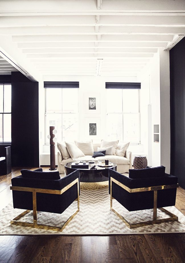 Interior Design | Manhattan Loft Apartment - dustjacket attic