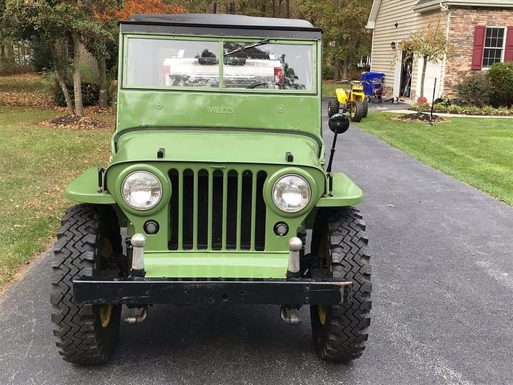 1946 Jeep Willys CJ2A Garage for sale in 2020 Willys