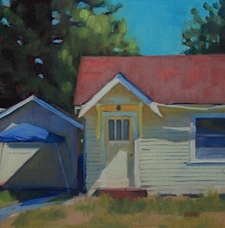"""""""Red Roof"""" - Alison Barry"""