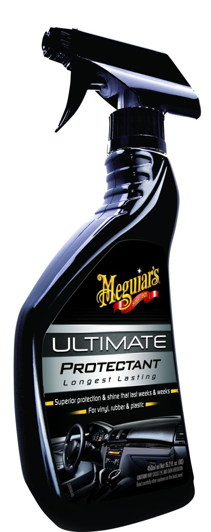 Meguiar's Ultimate Protectant Spray - Kilau yang kaya warna - jual eceran dengan harga lebih murah  Kering dengan cepat dan tidak benrminyak Tahan terhadap pencucian dan hujan terhadap trim tanpa meninggalkan baret  http://tokomeguiars.com/interior/65-jual-meguiars-meguiar-s-ultimate-protectant-spray-kilau-yang-kaya-warna-jual-eceran-dengan-harga-lebih-murah.html  #meguiars #ultimateprotectant #pemolesinteriormobil