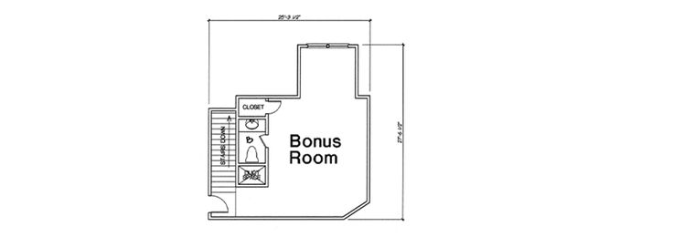 Classic Country Home Plan with Optional Bonus Room - 48539FM | Architectural Designs - House Plans