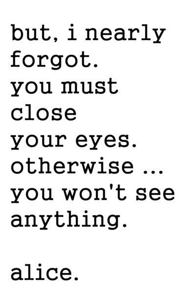 Svankmajer Alice, Movie Quote, Lewis Carroll Art Print
