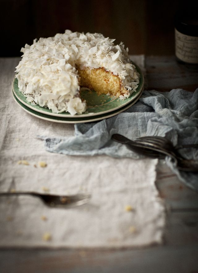 What Katie Ate » Gluten-free Lemon and Coconut Cake