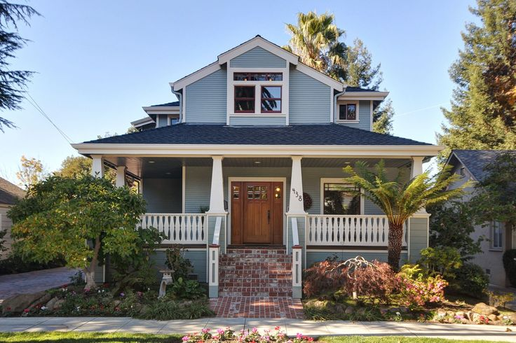 17 best images about home on pinterest for Craftsman style home plans with wrap around porch