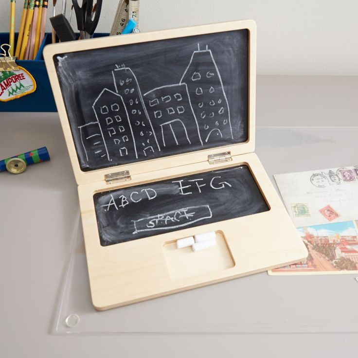 Byte-Size Kids Chalkboard Laptop | The Land of Nod