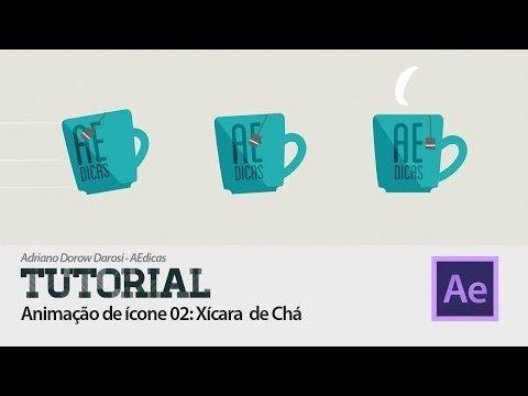 Tutorial After Effects - Animação de Ícone 02: Xícara de Chá - YouTube