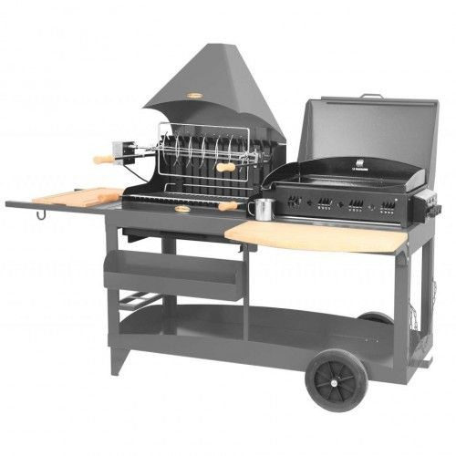 Barbecue charbon Le Marquier Mendy Alde