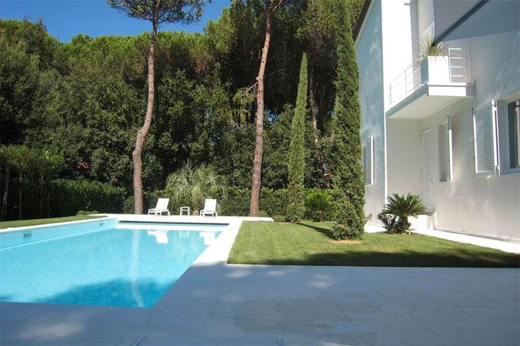 Exclusive villa in central Forte dei Marmi Roma Imperiale  Lucca, Italy – Luxury Home For Sale