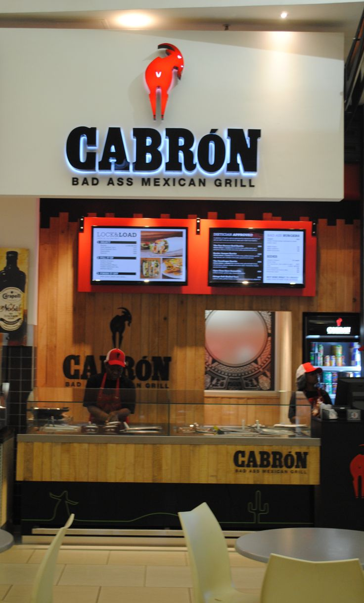 Cabron Bad Ass Mexican Grill. @CabronGrill