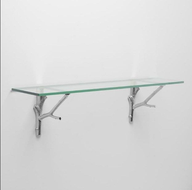 Nice Glass Shelf Bracket … Glass shelf brackets, Glass