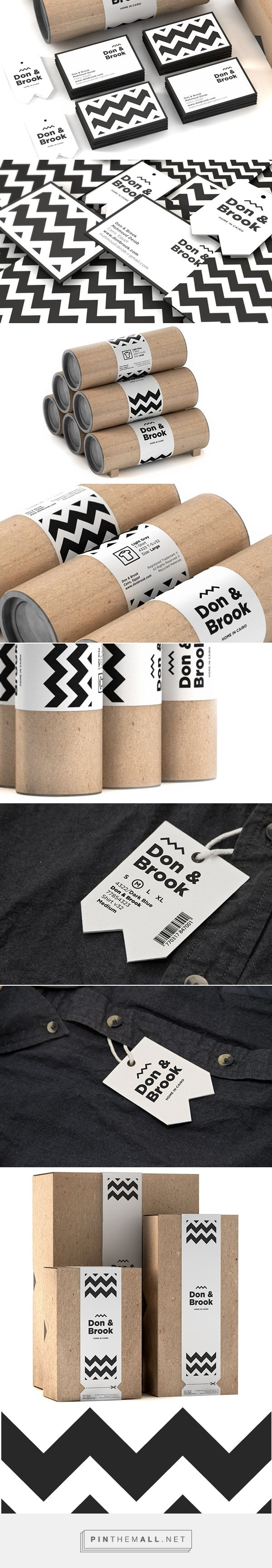 Don & Brook  is a Cairo based menswear and lifestyle brand / clothing packaging
