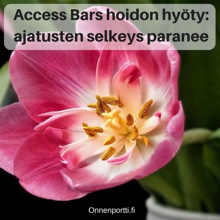 Access Bars hyöty: ajatuksen selkeys paranee #accessbars #getyourbarsrun #ajatukset #aivot #hyöty #ajatustenselkeys
