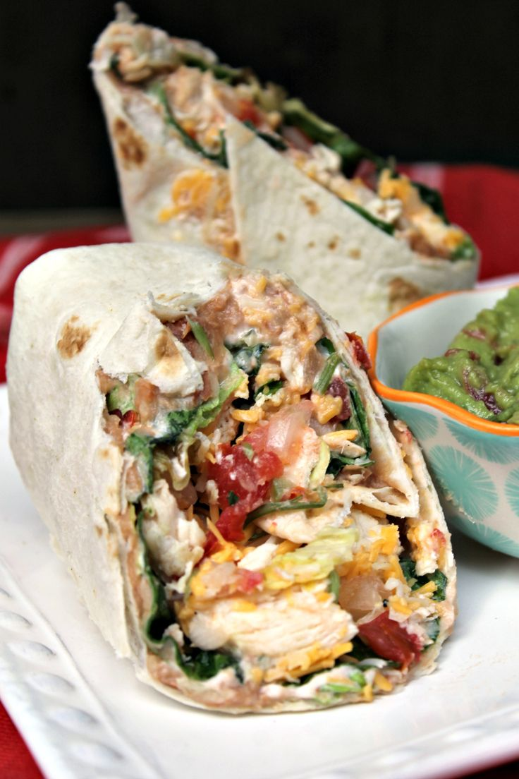 This Mexican Grilled Chicken Wrap Sandwich is a family favorite. Great when you're looking for something quick and filling.