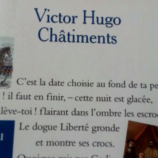 """Für die französischen #museogeek: Victor Hugo """"Châtiments"""" #Leselawine #litmuc13 @MuzeoNum @museomix"""