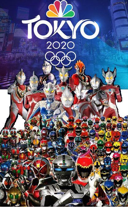 Tokustatsu In Tokyo 2020 Summer Olympics Ultraman Kamen