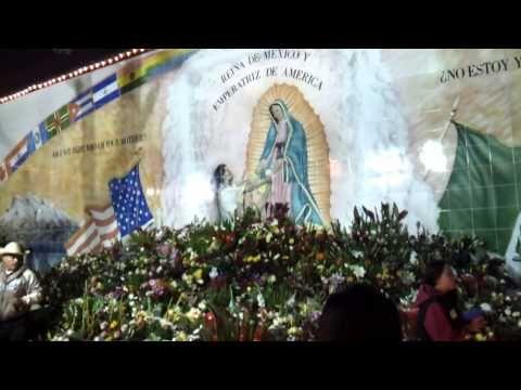 Las mananitas a La Virgen de Guadalupe @ La Placita Olvera 12/12/12