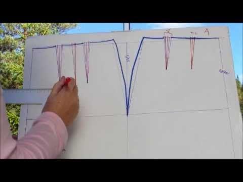 Konstruksjon 1: Grunnform skjørt - YouTube